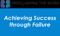 Achieving Success Through Failure