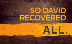 So David Recovered All